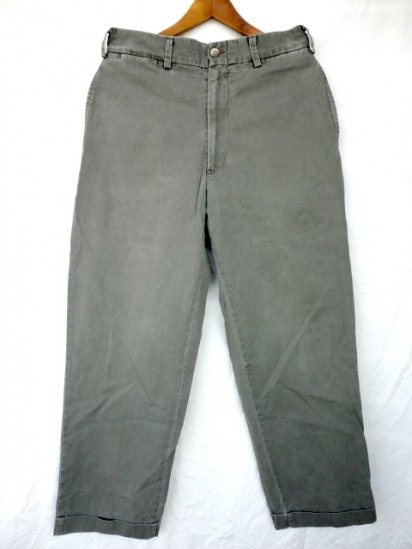 90's Old BILLS KHAKIS Chino Trousers MADE IN U.S.A Grey