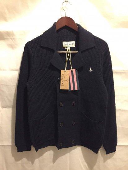 Jack Wills Wool Knit  W-Brest Cardigan<BR>SPECIAL PRICE! 8,000 + Tax