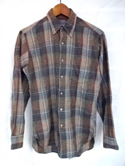 70's~ Vintage Pendleton Wool Shirts MADE IN U.S.A/ 18