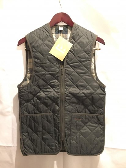 Barbour Quilted Waistcoat Olive<BR>SALE! 14,800 + Tax → 9,800 + Tax