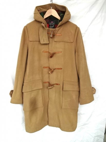 70's〜 Vintage Gloverall Duffle Coat Made in England Good Condition Medium Brown / 10