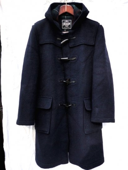 80's〜 Vintage Gloverall Duffle Coat Made in England Navy / 11