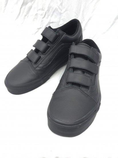 VANS VELCRO Leather Black