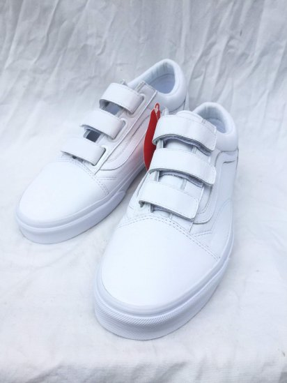 VANS VELCRO Leather White