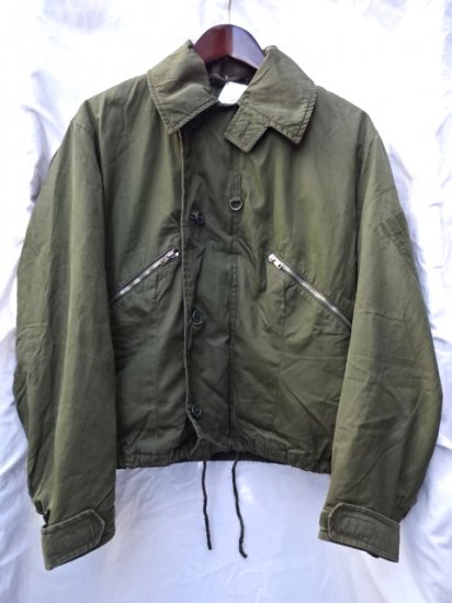 80's Vintage Early Issue RAF (Royal Air Force) MK3 Cold Weather Jacket OD / 10