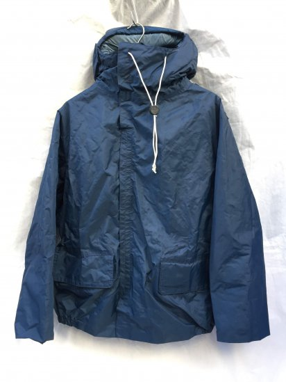 70-80's Vintage Dead Stock Royal Navy Foul Weather Jacket MK3 Navy