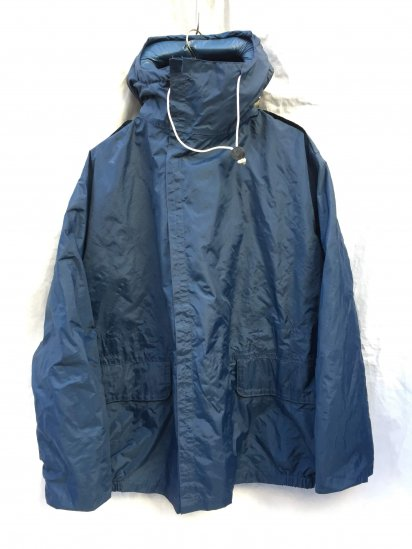 70 ~ 80's Vintage Dead Stock Royal Navy Foul Weather Jacket MK3 Navy