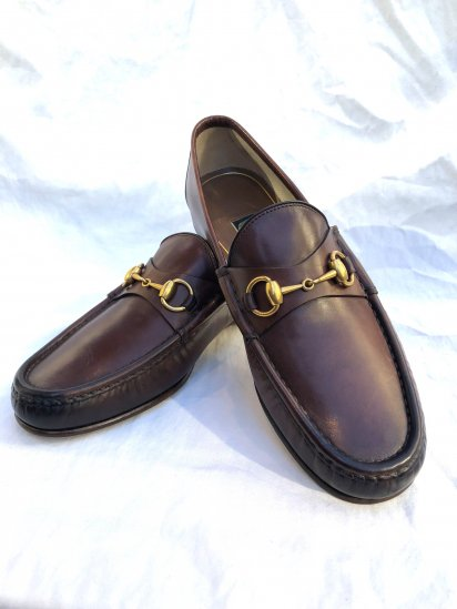 GUCCI 1953 Horsebit Loafer Made in Italy Brown
