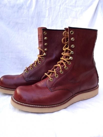 90's Vintage Dead Stock Red Wings 708 Made in U.S.A Brown