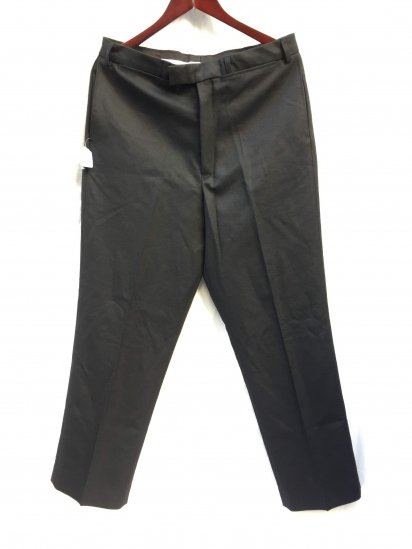 Dead Stock British Police Officers Trousers Black 32