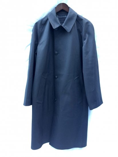 "60's ~ 70's Vintage Dead Stock British Railway ""MACKINTOSHES"" Rubberizzed Coat"