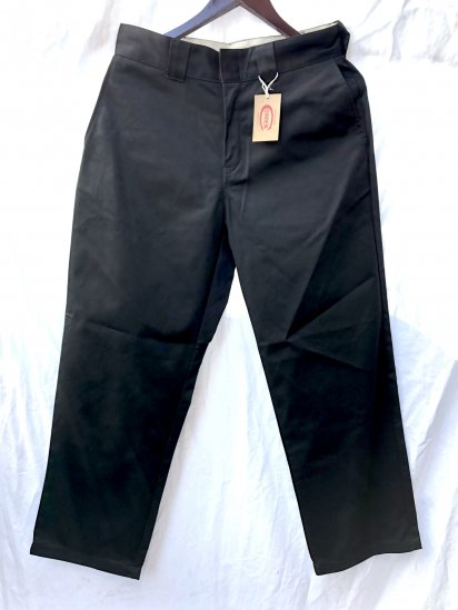 Cowden Reguler Straight Trousers Black