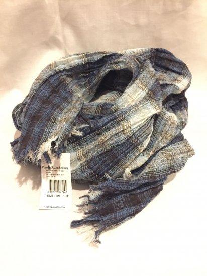 RRL Wool Ombre Scarf<BR>SALE! 7,800 + Tax → 4,800 + Tax