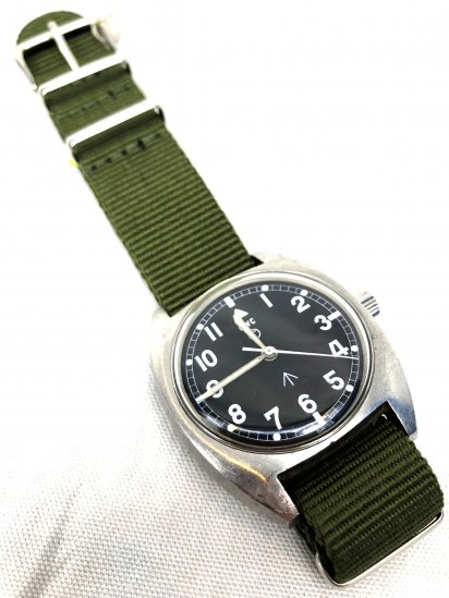 70's Vintage British Army W10 Watch by CWC