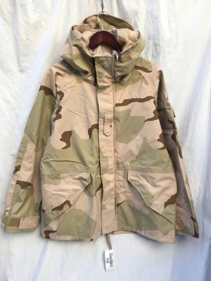 00's Dead Stock US Army GEN1 ECWCS GORE-TEX Parka Desert Camouflage