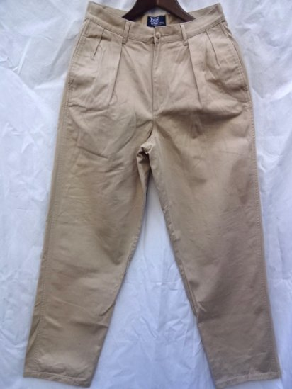 90's 〜 Old Ralph Lauren Chino Pants MADE IN U.S.A Mint Condition