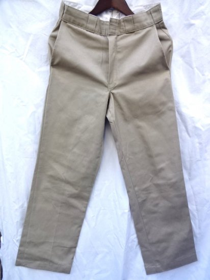 80〜90's Old Dickie's Chino Pants MADE IN U.S.A Mint〜Good Condition