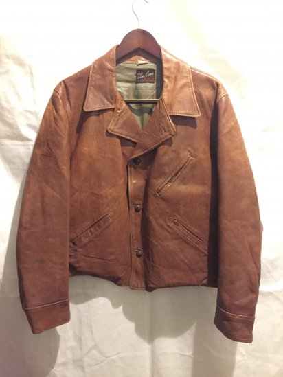 50's Vintage Leather Jacket<BR>SPECIAL PRICE!! 12,800 + Tax