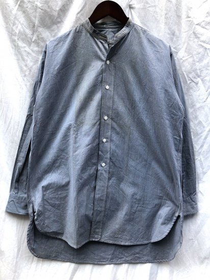 40's Vintage Dead Stock RAF (Royal Ari Force) Officer Shirts Blue / 3