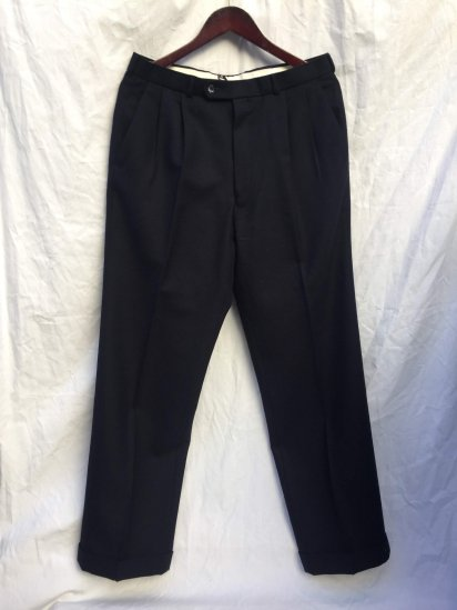 OLD DAKS Wool Trousers Good Condition Dark Navy