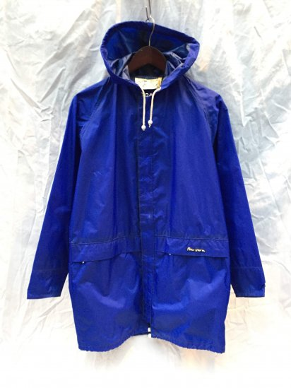 70's Vintage Peter Storm Rain Jacket Made in Great Britain Blue / 2