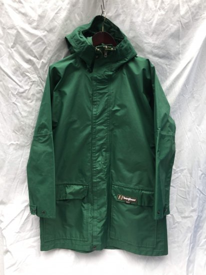 70's ~ 80's Vintage Berghaus LIGHTNING Made in Gt.Britain Good Condition Green / 1