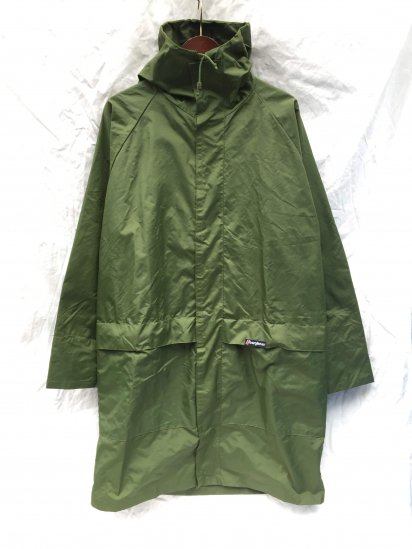 70's ~ 80's Vintage Berghaus MONSOON Made in Gt.Britain Good Condition Olive / 3