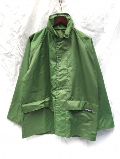 70's Vintage Berghaus TEMPEST Made in Gt.Britain Mint Condition Olive / 4