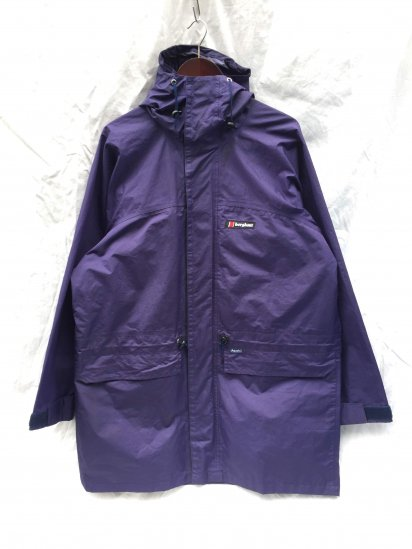80's ~ 90's Vintage Berghaus TYPHOON Made in Gt.Britain Mint Condition Purple / 5