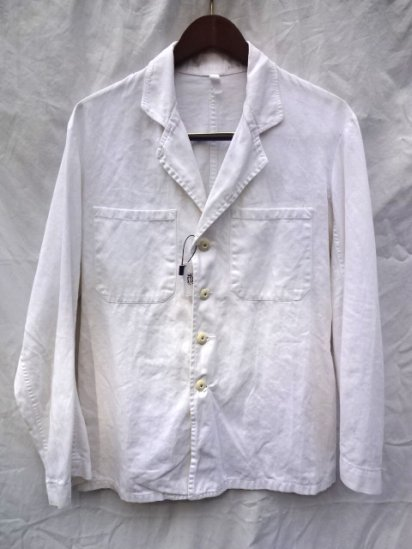 50-60's Vintage Royal Navy Officer Tunic White