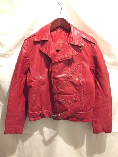 70's Vintage Leather Riders<BR>SPECIAL PRICE!! 7,800 + Tax