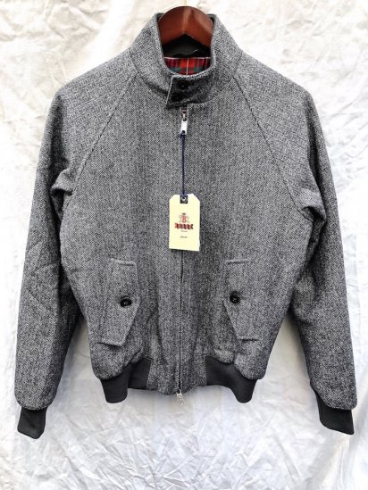 Baracuta G-9 Harrington Jacket�Moon Fabric�Made in England Grey HBT