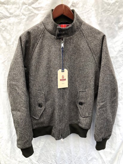 Baracuta G-9 Harrington Jacket�Moon Fabric�Made in England Olive HBT