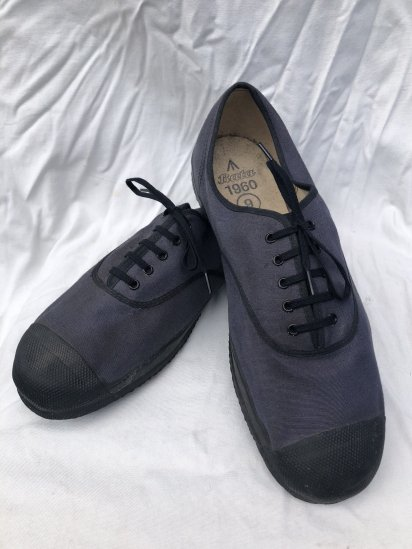 60's Vintage British Military PT Shoes Navy