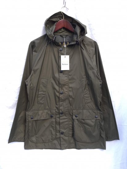 Barbour Hooded SL BEDALE Nylon Olive