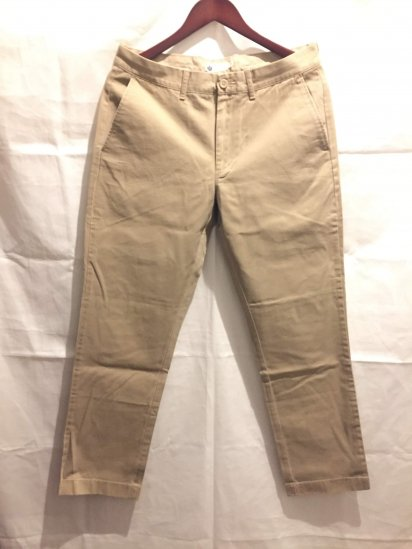 J.Crew Urban Slim Fit (THE SUTTON) Chino Pants Khaki<BR>SALE !! 7,800 + Tax → 5,000 + Tax