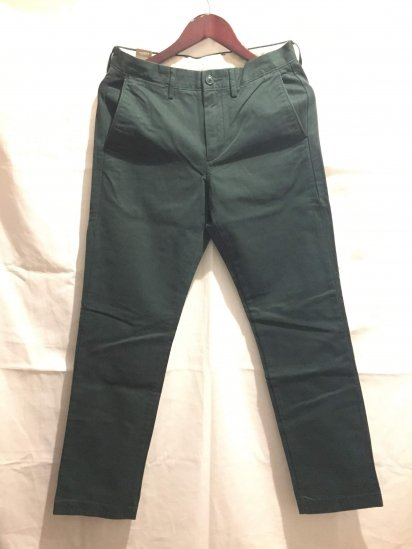 J.Crew Urban Slim Fit (THE SUTTON) Chino Pants Green<BR>SALE !! 7,800 + Tax → 5,000 + Tax