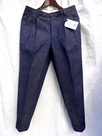 RICHFIELD D-3 Light oz Zimbabwean Cotton Denim Trousers Made in JAPAN