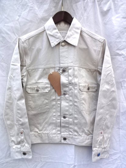 RICHFIELD JJW-1Jacket Made in JAPAN Stone White