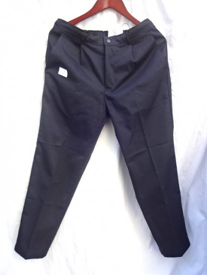 Uniform World Pleasted Front Work Pants Made in ENGLAND Black