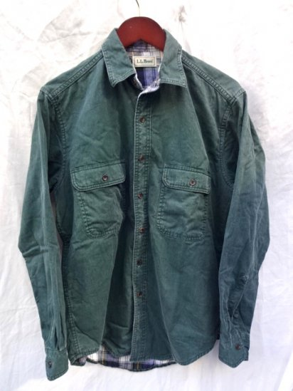90's old L.L.BEAN Shirts (Inner Flannel) MADE IN CANADA/4