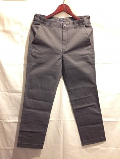 J.Crew THE BLEECKER Chino Pants Charcoal<BR>SALE !! 7,800 + Tax → 5,000 + Tax