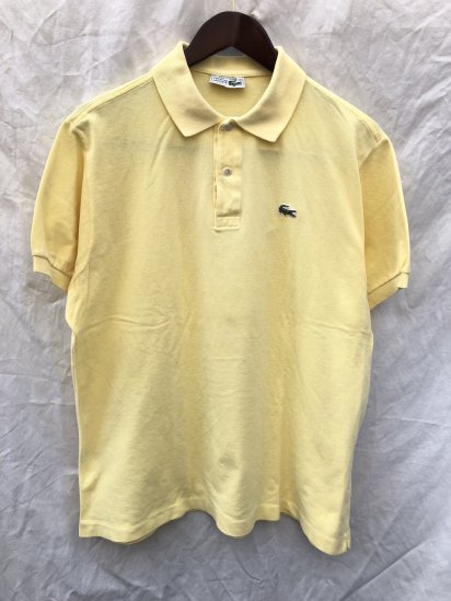 70's Vintage Lacoste Polo Shirts Made in France / 65
