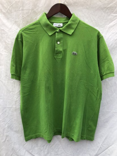 80's ~ 90's Vintage Lacoste Polo Shirts Made in France / 68