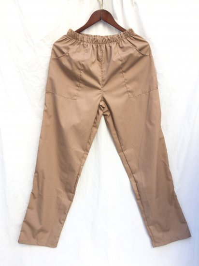 Massaua Poplin Work Pants Made in Italy Camel