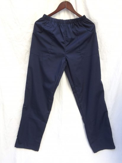 Massaua Poplin Work Pants Made in Italy Navy