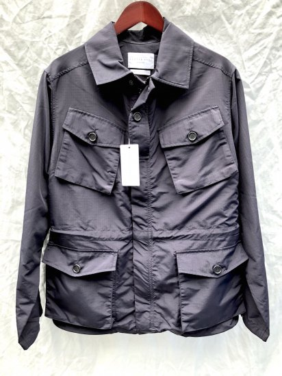KESTIN HARE TRAVELER JACKET MADE IN U.K Navy