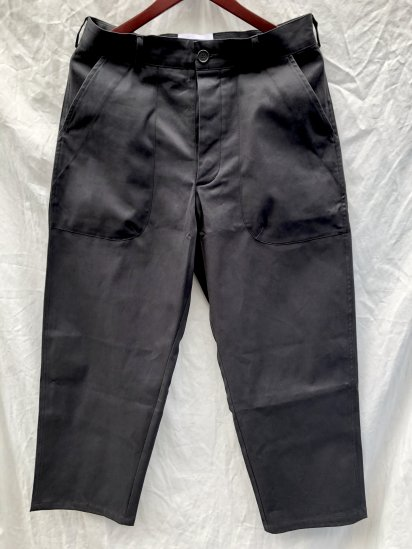 KESTIN HARE VICTORIA TROUSERS MADE IN U.K Black