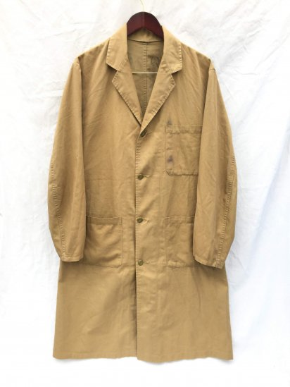 70's Vintage British Army Overall Coat Mint Condition Khaki / 2