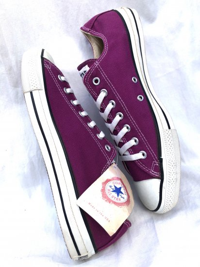 90's Vintage Deadstock! Converse All Star Made in U.S.A Purple